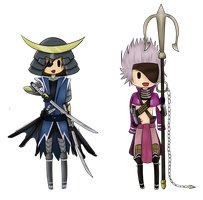 Date and Moto Chibis by 5Ds-rabid-fangirl