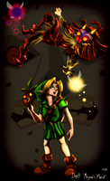 Day 9 - Majora's Mask by CelticMagician