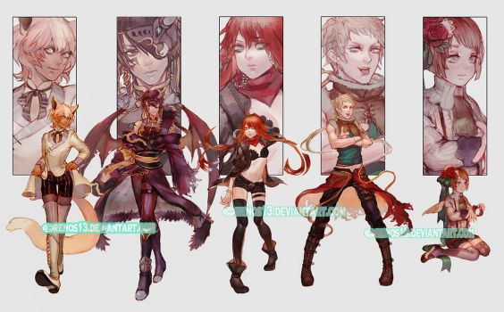 Limited Commission R1 Batch02 by Krawark
