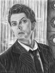 The 10th Doctor by Hallarhoswen