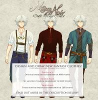 MIRAGE NOIR OUTFIT DESIGN CONTEST - WIN MEMBERSHI by Noire-Ighaan
