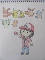 Pokemon Sketchdump. by mik3andik3xD
