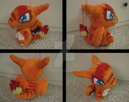 Clonizard Plush by aSourLemon