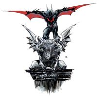 gargoyle batman beyond by BChing