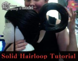 Cosplay Tutorial: Making a Solid Hairloop by vicious-cosplay