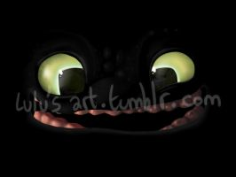 Toothless smile by Mioumioune