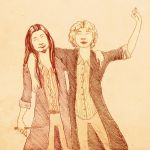 Albus and Gellert by Signe-the-muggle