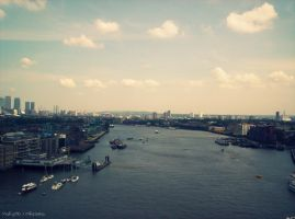 River Thames, London by MaRyS90