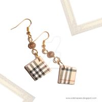 Burberry cubes by jewelryandstuff