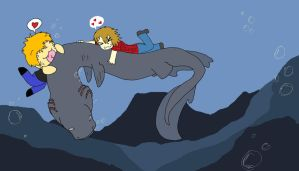 Frilled Shark Lover Collab by Foxy-teh-sexy-fox