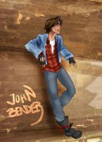 John Bender by Jacksparrowsbabe