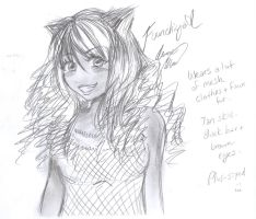 5 minute sketch: Fuunchiya by Amme-Hsuor