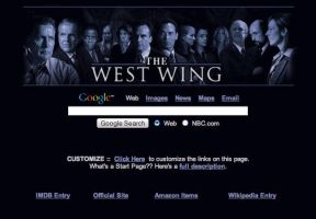West Wing Startpage by AwesomeStart