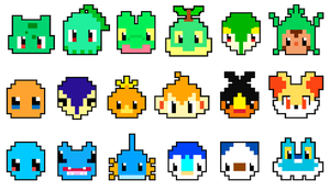Pixel starters by Mad-Jim-McKracken