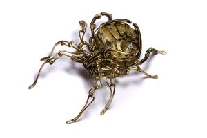 Steampunk Spider Sculpture 6 by CatherinetteRings
