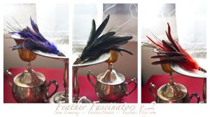 Feather Fascinators v.2 by taeliac