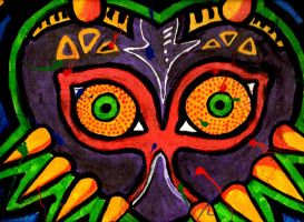 Majora's Mask Painting by MarilynMansonIsAGod