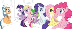 MLP cast interview by Raikoh-illust