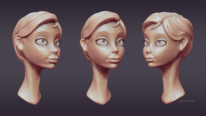 zBrush Animated character by whypack