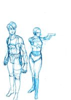 Rough cop sketch concept by Vimes-DA