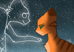 Don't be sad,  Fireheart by zombietabbykittycat