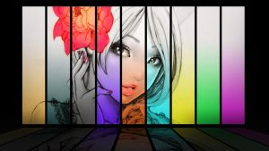 Chica de colores by acg3fly