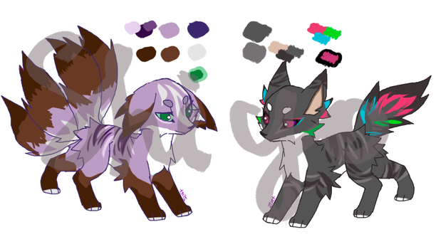 Adoptable Batch [AUCTION OPEN 1/2] by Shiyoki-chan