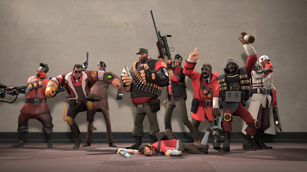 SFM - Meet The (Unnecessarily Enthusiastic) Team by Stormbadger