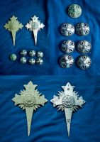 D.Gray-Man accessories by SomaKun