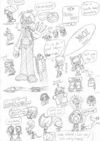 London Expo doodles by EUAN-THE-ECHIDHOG
