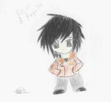 Chibi Nico di Angelo by navy-ink