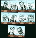 Iron Man 2 Sketch Cards by Inkpulp