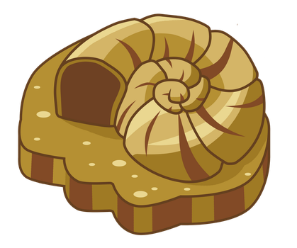 Helix Fossil. by Pegasi-pony