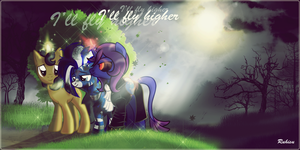 COMMISSION for WildBlue - I'll Fly higher by Ruhisu