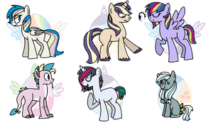 [CLOSED] - Mane 7 Eggs by Featheries