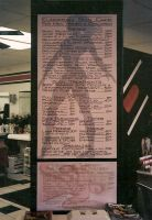 Beauty salon menu by MuralsbyLeBold
