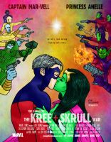 The Avengers' The Kree-Skrull War by Cesar-Hernandez