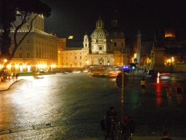 Rome at night by A-minute-to-smile