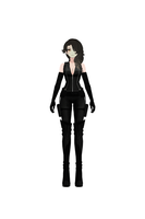 RWBY - Cinder Fall Stealth Outfit Turnaround by jkphantom9