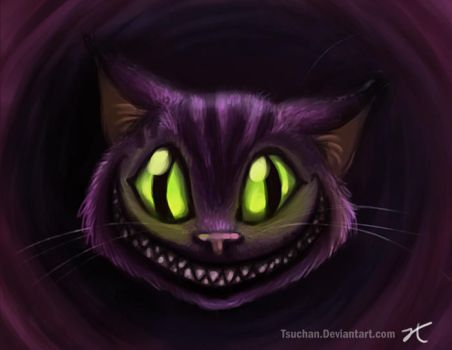 Cheshire Cat by Tsuchan