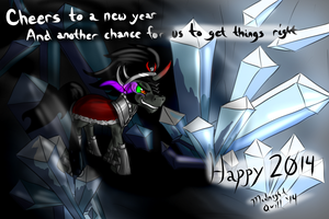 Happy New years 2014 by MidnightQuill