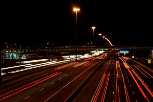Lights at 401 Highway by gale015