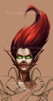 Blood elf preview by AHague