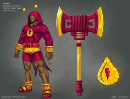 Chaac Chaacpulin Colorado Skin Concept for SMITE by karulox