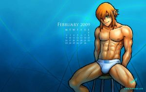 February 2009 Calendar, Cyl by humbuged
