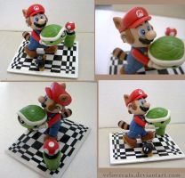 Super Mario Bros 3 figure by vrlovecats