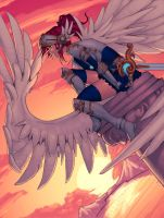 8 Valkyries color commish 7 by Ross-A-Campbell