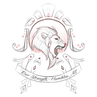 Family Crest: Lion by andarix