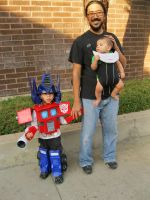 Jaden as Optimus Prime by imagesbyalex