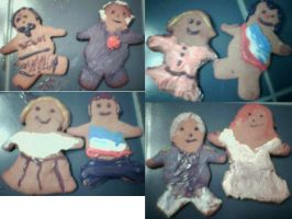 More Les Mis cookies by dramakitty